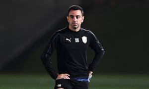 Xavi Hernandez is currently head coach at Al-Sadd in Qatar.