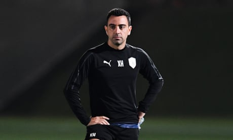 Xavi keen to manage Barcelona as long as dressing room is not 'toxic'
