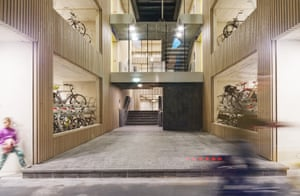 The biggest bike park in the world, by Ector Hoogstad Architects, in Utrecht, the Netherlands