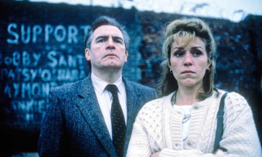 Brian Cox and Frances McDormand in Hidden Agenda