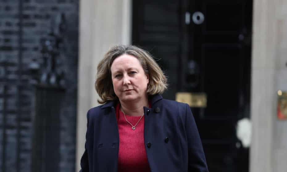The new international trade secretary, Anne-Marie Trevelyan