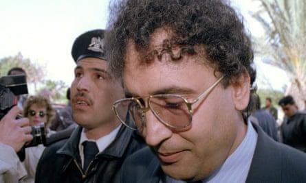 Abdelbaset Al-Megrahi in 1992. He was convicted in 2001.