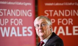 Welsh Labour leader Mark Drakeford