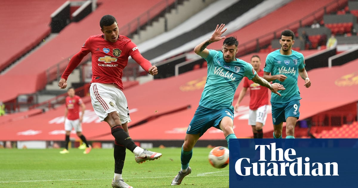 Greenwood hits double as Manchester United thrash Bournemouth