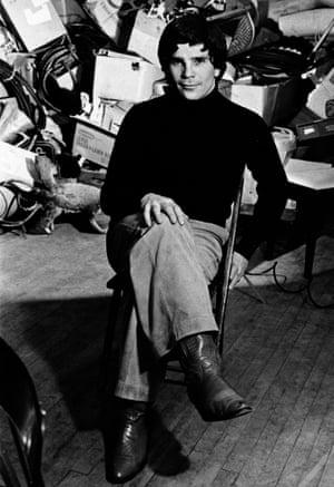 David Mamet in 1977.