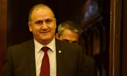 Shorten's successor in the post of AWU state secretary, Cesar Melhem.