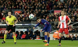 The plan is for Barcelona to play Girona in the first of the La Liga games in the United States