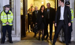 Gina Miller leaves the supreme court in London