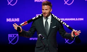 David Beckham's Inter Miami are due to start their MLS campaign in Fort Lauderdale