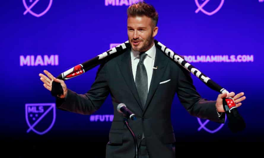 David Beckham's team hopes to make its debut in 2020