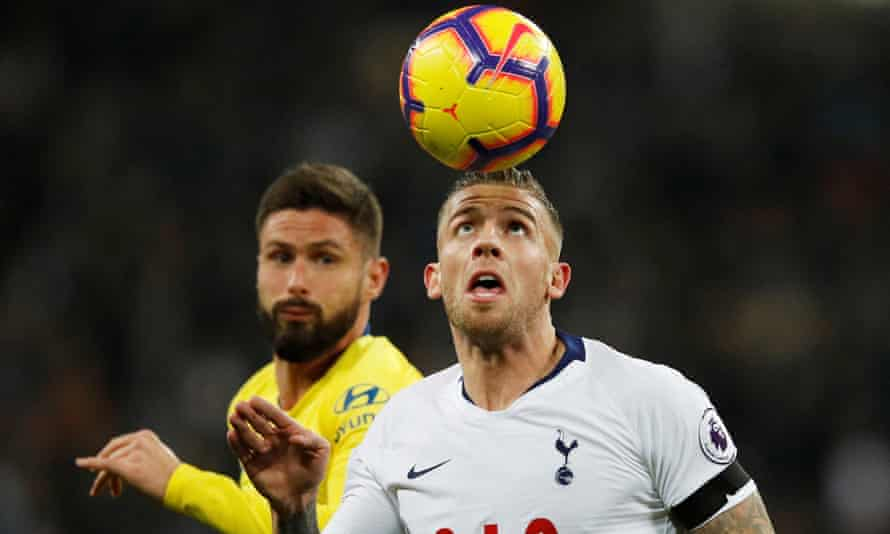 Toby Alderweireld is available for £25m this month.