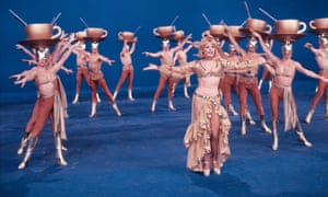 Raffaella Carrà dancing to the Ma Che Sera show in 1978.