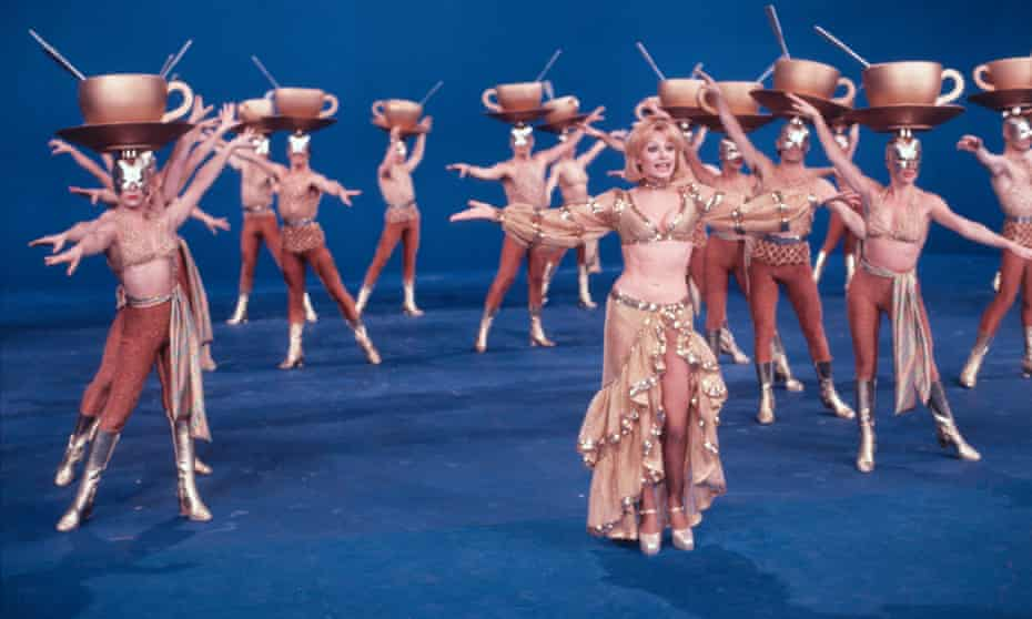 Raffaella Carrà dancing in the show Ma Che Sera in 1978.