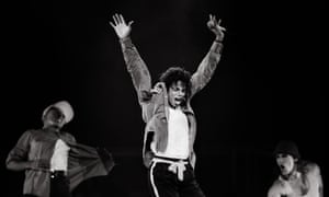 Michael Jackson performs during his Bad world tour at Madison Square Garden in New York, March 1988.