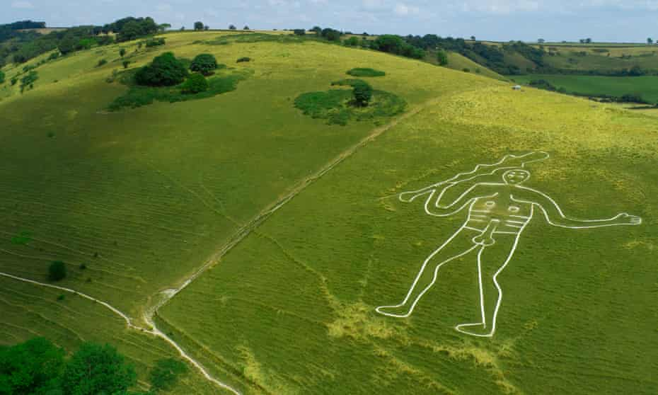 Members only ... Cerne Abbas Giant.