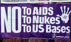 A 1986 poster from the Philippines shows just how successful the campaign to blame the US for Aids/HIV was.