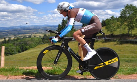 Romain Bardet's time trialling remains a weakness