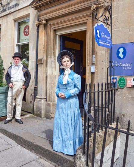 The Jane Austen Centre in Bath.