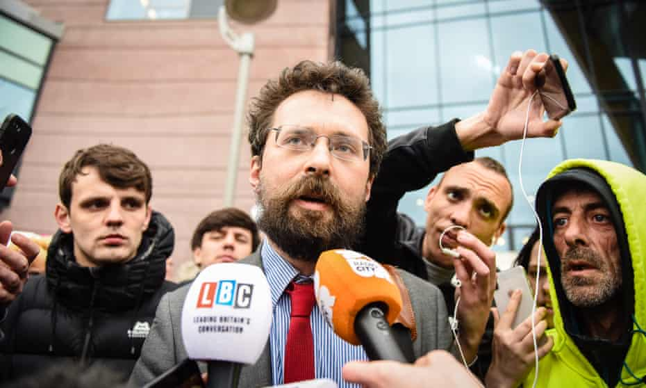 Pavel Stroilov, one of the campaigners criticised by Mr Justice Hayden.