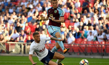 Chris Wood stuns Tottenham with a stoppage-time leveller