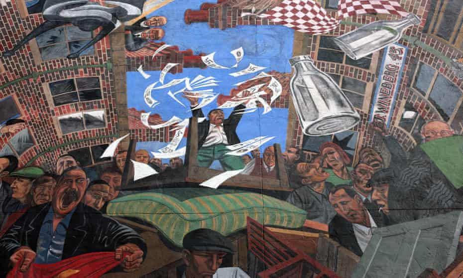 The Cable Street mural owes its existence to an act of cultural resistance ...