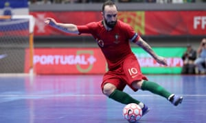 Ricardinho is captain of Portugal's history-making futsal seleção and has been named best player in the world for the last five years.