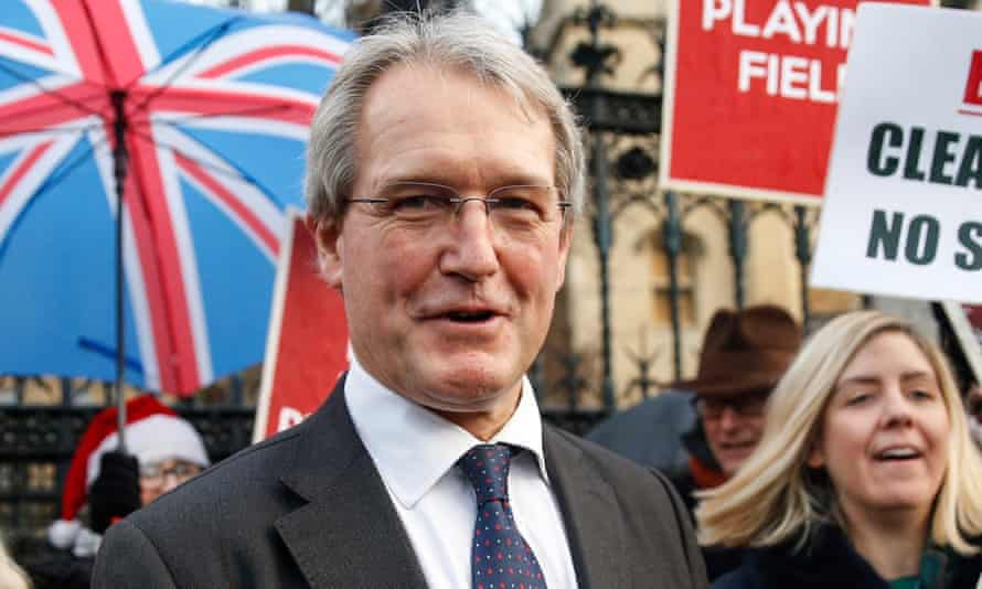 Owen Paterson, a prominent Conservative Brexiter, is paid £500 an hour to advise Randox Laboratories.