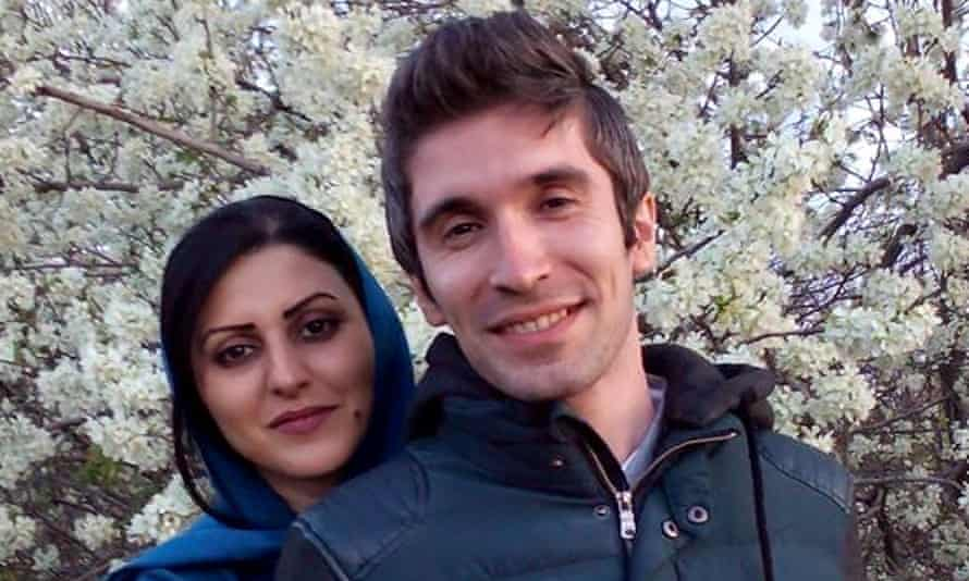 Iranian writer Golrokh Ebrahimi Iraee and her husband and fellow activist, Arash Sadeghi