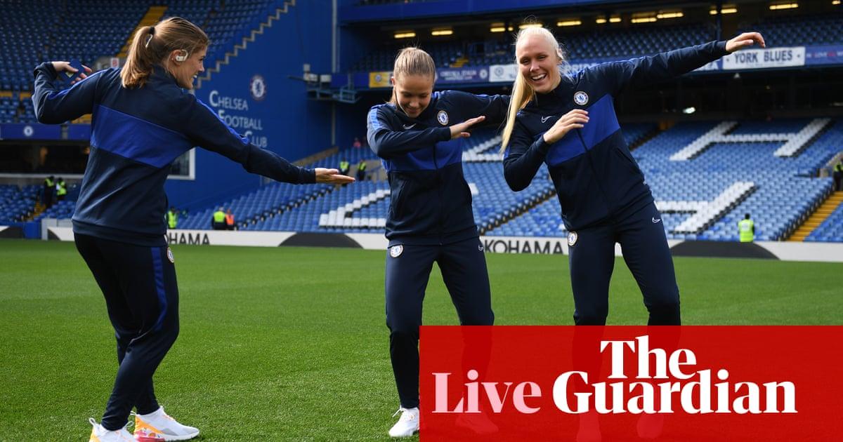 Chelsea v Tottenham: Womens Super League – live!