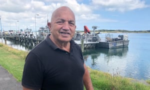 "Joshua Kauta, 70, a Ngāti Awa local, who is ""extremely relieved"" to hear that most of the bodies on White Island after the volcano erupted there have been recovered. New Zealand, 13 November 2019."