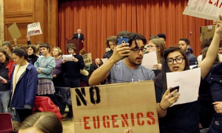 Students in Vermont last year turned their backs on Charles Murray, co-author of The Bell Curve