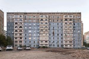 Residential building, 1970s, Bishkek, Kyrgyzstan