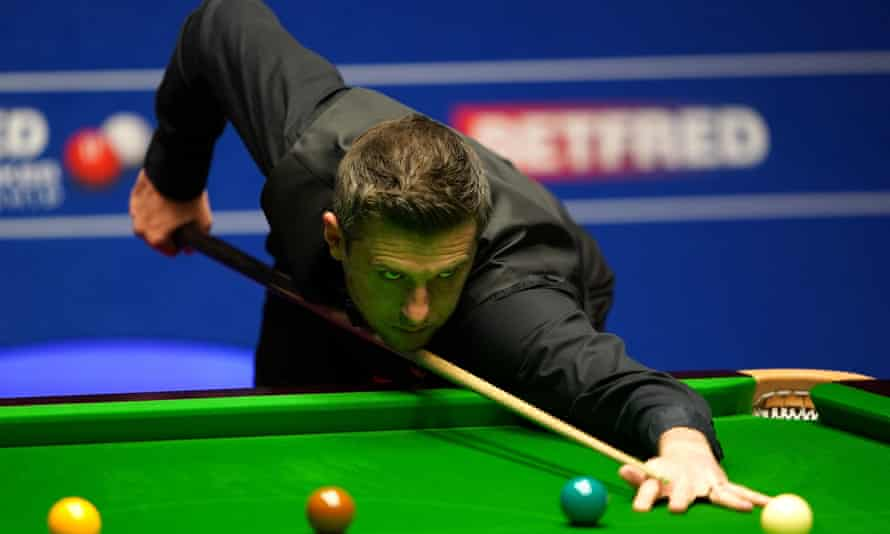Mark Selby during his 17-15 semi-final victory against Stuart Bingham