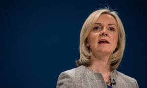 Liz Truss at the Tory party conference