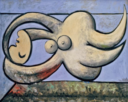 Monstrous, magnificent and creepy … Picasso's Reclining Nude (1932).