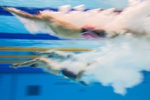 Australia's Ricky Betar competes in the heats of the men's 200m freestyle S14 during the London 2019 World Para-Swimming championships at the Aquatics Centre in London.