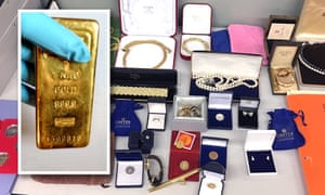 Property seized in a tax investigation by the Netherlands' FIOD.