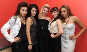 From left: Hayley Kiyoko, Lauren Hudson, Allie Gonino, Marisol Esparza and Tinashe Kachingwe