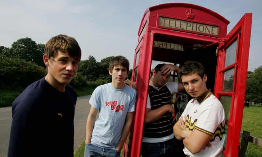 Good call. Arctic Monkeys in the early days - from left: Jamie Cook, Alex Turner, Andy Nicholson and Matt Helders.