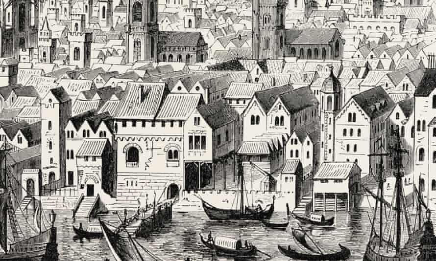 The Steelyard depot of the Hanseatic merchants.