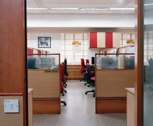 Inside the The Hindu newsroom, Chennai, India