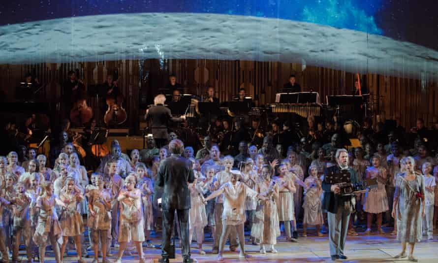 A Trip to the Moon with Sir Simon Rattle and LSO at the Barbican.