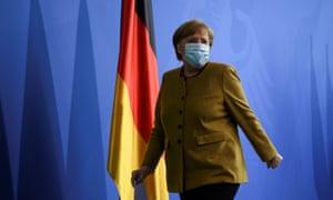 German chancellor Angela Merkel in Berlin.