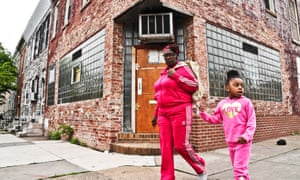 Butchie's Bar: Janet Worsley and her granddaughter walk past the location of the show's east-side bar.