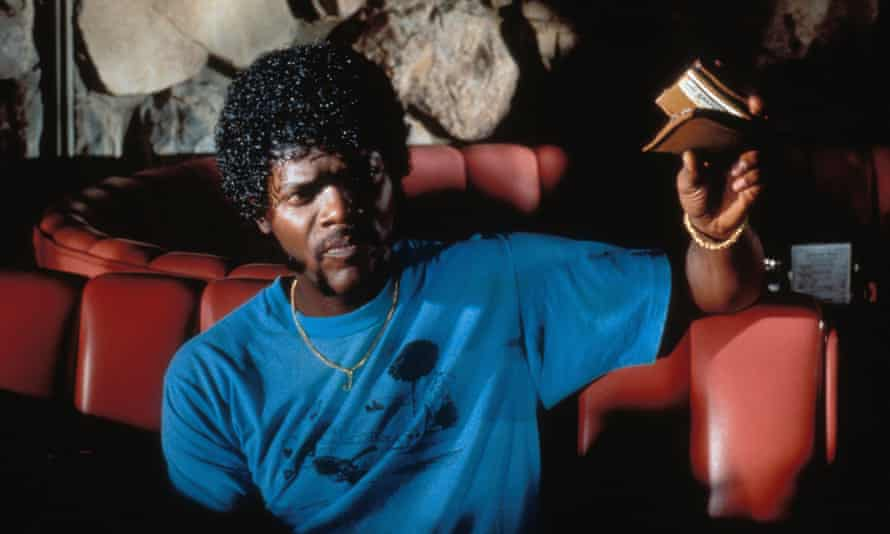 Jackson in Pulp Fiction (1994), the film that truly projected him into the mainstream.