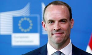 Dominic Raab said: 'I think inevitably we will see parliament vote this deal down.'