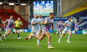 Henry Slade scores after good work from Nowell