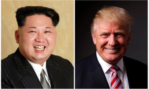 Trump and Kim Jong-un