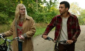 Elle Fanning and Justice Smith in All the Bright Places, a film that remains disappointingly shallow.