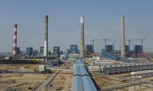 Adani group's power plant in Mundra